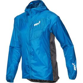 inov-8 Veste Windshell zip complet Homme, blue/dark grey